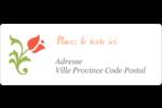 Floraison du printemps Étiquettes D'Adresse - gabarit prédéfini. <br/>Utilisez notre logiciel Avery Design & Print Online pour personnaliser facilement la conception.