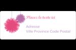 Pompons de fête Étiquettes D'Adresse - gabarit prédéfini. <br/>Utilisez notre logiciel Avery Design & Print Online pour personnaliser facilement la conception.