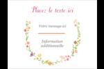 Floraison du printemps Carte Postale - gabarit prédéfini. <br/>Utilisez notre logiciel Avery Design & Print Online pour personnaliser facilement la conception.