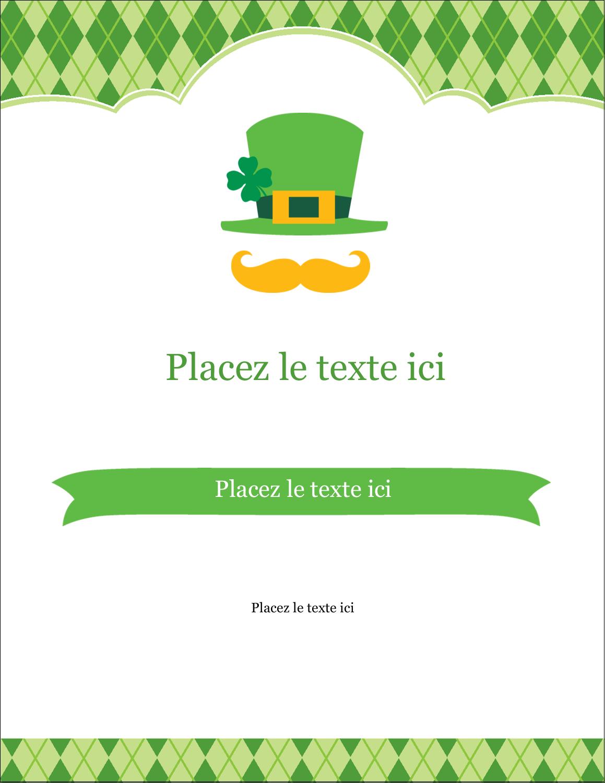 "5½"" x 4¼"" Carte Postale - Saint-Patrick"