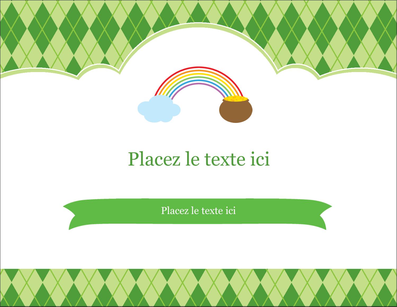 "4¼"" X 5½"" Carte Postale - Saint-Patrick"