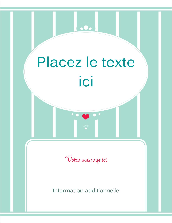 """5½"""" x 4¼"""" Carte Postale - Cœur de princesse"""
