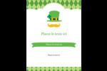 Saint-Patrick Carte Postale - gabarit prédéfini. <br/>Utilisez notre logiciel Avery Design & Print Online pour personnaliser facilement la conception.