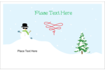 Add a touch of seasonal coolness to projects with pre-designed Winter Holiday templates.