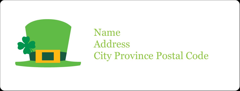 "1"" x 2⅝"" Address Label - St. Patrick"