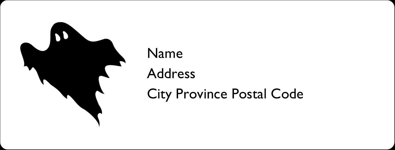 """1"""" x 2⅝"""" Address Label - Kiddie Halloween"""