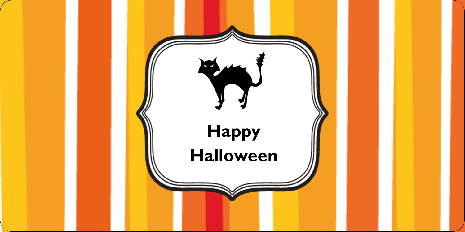 "2"" x 4"" Shipping Label - Kiddie Halloween"