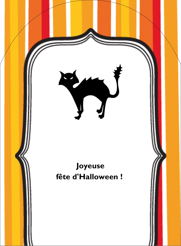 """4¾"""" x 3½"""" Étiquettes rectangulaires - Halloween d'enfant"""