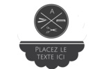Trousse de toilette Étiquettes rondes - gabarit prédéfini. <br/>Utilisez notre logiciel Avery Design & Print Online pour personnaliser facilement la conception.