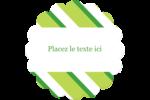 Saint-Patrick Étiquettes rondes - gabarit prédéfini. <br/>Utilisez notre logiciel Avery Design & Print Online pour personnaliser facilement la conception.