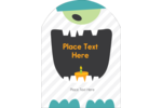 Do the Monster Mash with these adorable playful templates.