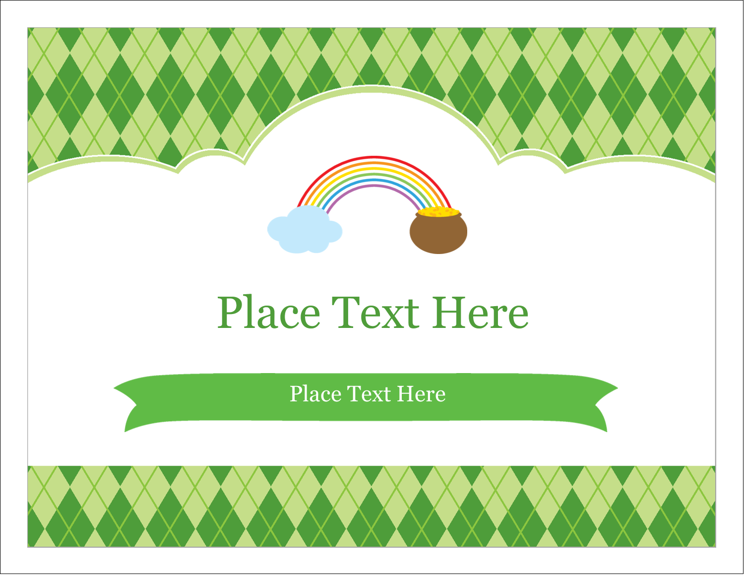 """5½"""" x 4¼"""" Note Card - St. Patrick"""