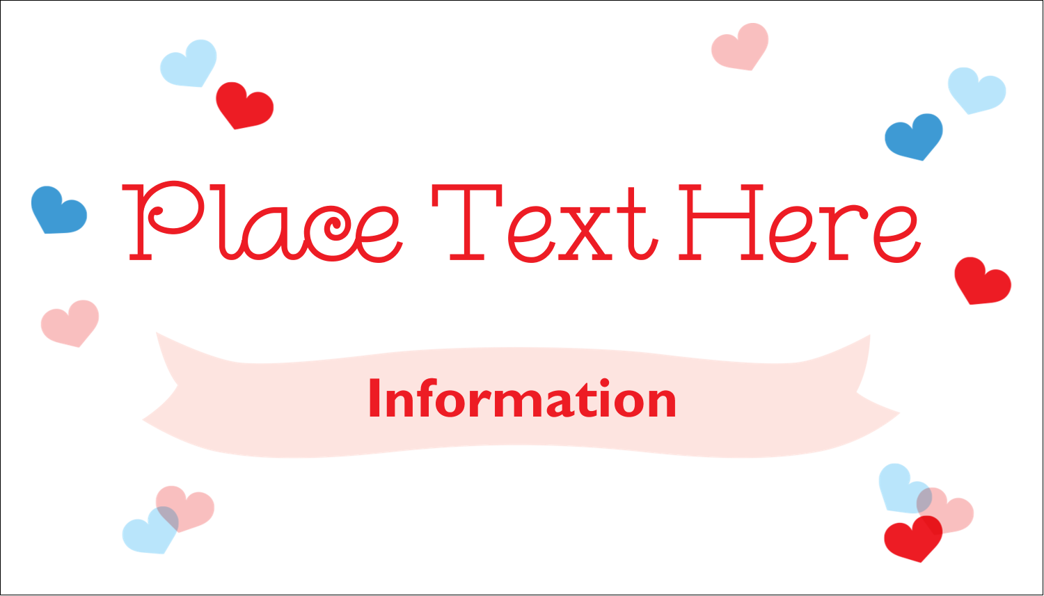 "2"" x 3½"" Business Card - Valentine's Day"