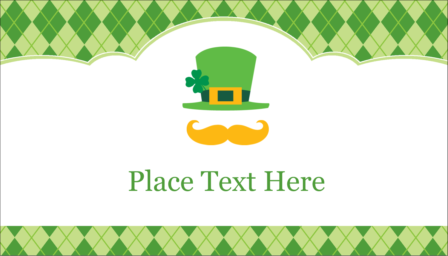 "2"" x 3½"" Business Card - St. Patrick"