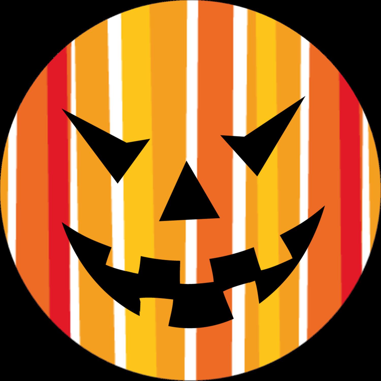 """2"""" Round Label - Kiddie Halloween"""