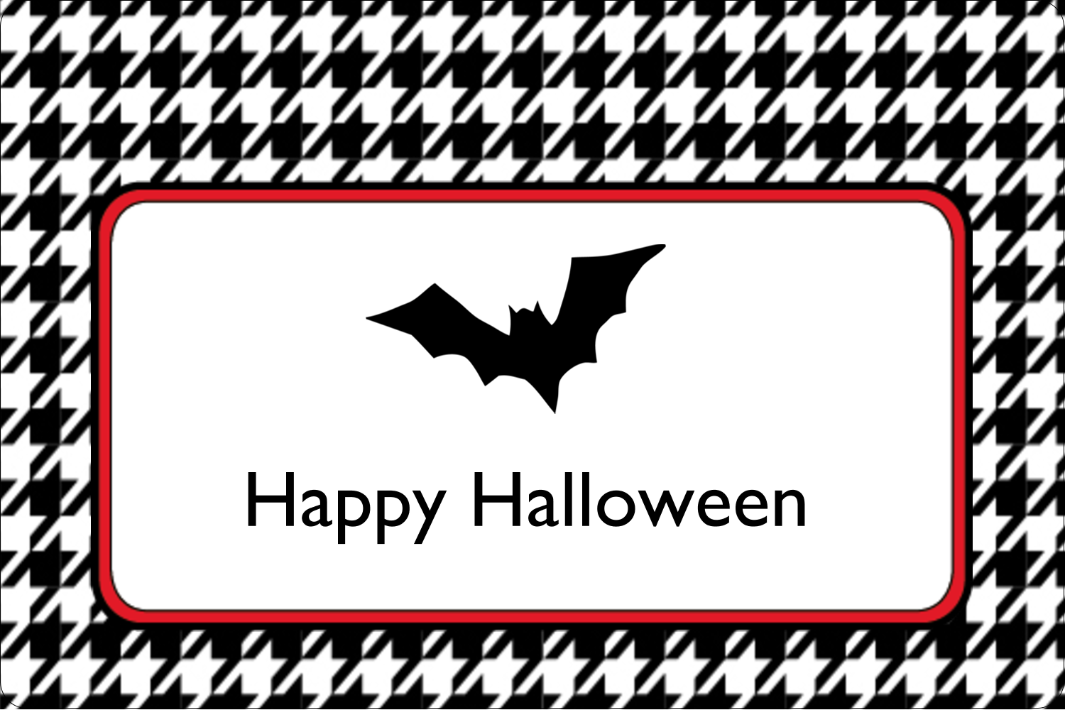 "2"" x 3"" Rectangular Label - Kiddie Halloween"