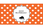 Halloween d'enfant Étiquettes de classement écologiques - gabarit prédéfini. <br/>Utilisez notre logiciel Avery Design & Print Online pour personnaliser facilement la conception.