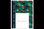 Fleurs tropicales Étiquettes D'Adresse - gabarit prédéfini. <br/>Utilisez notre logiciel Avery Design & Print Online pour personnaliser facilement la conception.