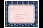 Fleurs délicates Étiquettes D'Adresse - gabarit prédéfini. <br/>Utilisez notre logiciel Avery Design & Print Online pour personnaliser facilement la conception.