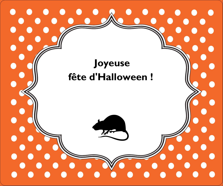 """½"""" x 1¾"""" Étiquettes D'Adresse - Halloween d'enfant"""
