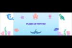 Au cœur de l'océan Cartes de notes - gabarit prédéfini. <br/>Utilisez notre logiciel Avery Design & Print Online pour personnaliser facilement la conception.