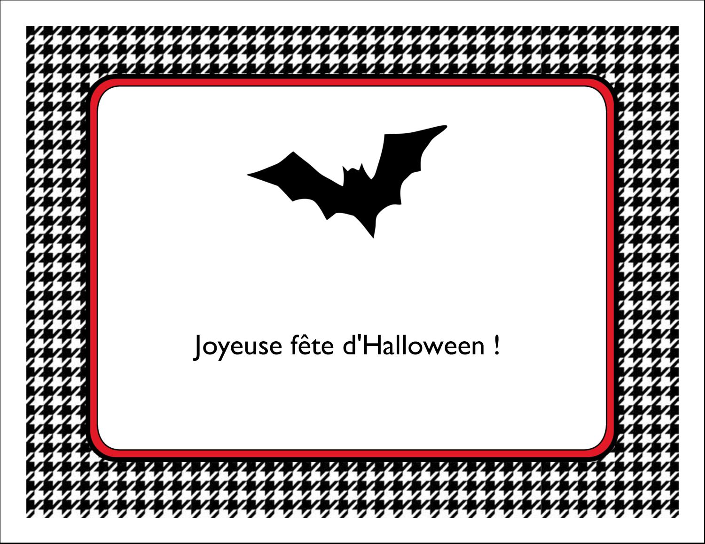 """8½"""" x 11"""" Cartes Et Articles D'Artisanat Imprimables - Halloween d'enfant"""