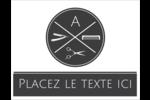 Trousse de toilette Cartes Et Articles D'Artisanat Imprimables - gabarit prédéfini. <br/>Utilisez notre logiciel Avery Design & Print Online pour personnaliser facilement la conception.