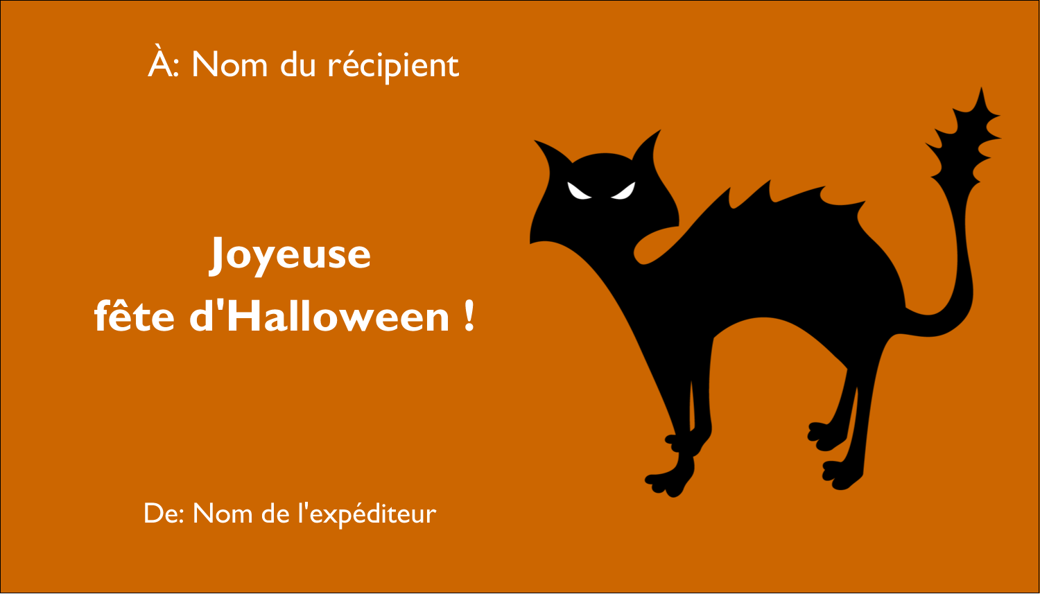 "2"" x 3½"" Carte d'affaire - Halloween d'enfant"