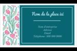 Fleurs picturales Carte d'affaire - gabarit prédéfini. <br/>Utilisez notre logiciel Avery Design & Print Online pour personnaliser facilement la conception.
