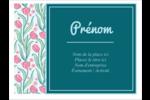 Fleurs picturales Badges - gabarit prédéfini. <br/>Utilisez notre logiciel Avery Design & Print Online pour personnaliser facilement la conception.
