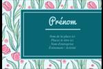 Fleurs picturales Étiquettes à codage couleur - gabarit prédéfini. <br/>Utilisez notre logiciel Avery Design & Print Online pour personnaliser facilement la conception.