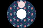 Fleurs délicates Étiquettes de classement - gabarit prédéfini. <br/>Utilisez notre logiciel Avery Design & Print Online pour personnaliser facilement la conception.