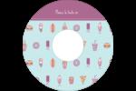 Malbouffe Motif Étiquettes de classement - gabarit prédéfini. <br/>Utilisez notre logiciel Avery Design & Print Online pour personnaliser facilement la conception.