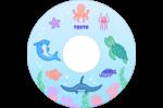 Au cœur de l'océan Étiquettes de classement - gabarit prédéfini. <br/>Utilisez notre logiciel Avery Design & Print Online pour personnaliser facilement la conception.