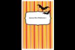 Halloween d'enfant Reliures - gabarit prédéfini. <br/>Utilisez notre logiciel Avery Design & Print Online pour personnaliser facilement la conception.