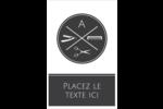 Trousse de toilette Reliures - gabarit prédéfini. <br/>Utilisez notre logiciel Avery Design & Print Online pour personnaliser facilement la conception.