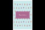 Malbouffe Motif Reliures - gabarit prédéfini. <br/>Utilisez notre logiciel Avery Design & Print Online pour personnaliser facilement la conception.