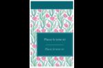 Fleurs picturales Reliures - gabarit prédéfini. <br/>Utilisez notre logiciel Avery Design & Print Online pour personnaliser facilement la conception.