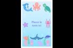 Au cœur de l'océan Reliures - gabarit prédéfini. <br/>Utilisez notre logiciel Avery Design & Print Online pour personnaliser facilement la conception.