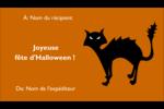 Halloween d'enfant Cartes Pour Le Bureau - gabarit prédéfini. <br/>Utilisez notre logiciel Avery Design & Print Online pour personnaliser facilement la conception.