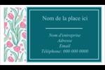 Fleurs picturales Cartes Pour Le Bureau - gabarit prédéfini. <br/>Utilisez notre logiciel Avery Design & Print Online pour personnaliser facilement la conception.