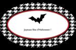 Halloween d'enfant Étiquettes carrées - gabarit prédéfini. <br/>Utilisez notre logiciel Avery Design & Print Online pour personnaliser facilement la conception.