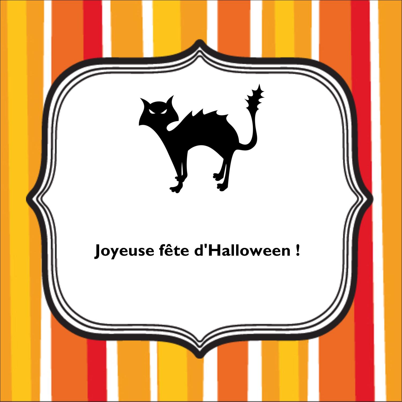 """2"""" Diameter Étiquettes rondes - Halloween d'enfant"""