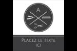 Trousse de toilette Étiquettes enveloppantes - gabarit prédéfini. <br/>Utilisez notre logiciel Avery Design & Print Online pour personnaliser facilement la conception.