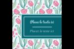 Fleurs picturales Étiquettes enveloppantes - gabarit prédéfini. <br/>Utilisez notre logiciel Avery Design & Print Online pour personnaliser facilement la conception.