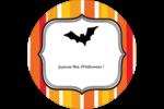 Halloween d'enfant Étiquettes de classement - gabarit prédéfini. <br/>Utilisez notre logiciel Avery Design & Print Online pour personnaliser facilement la conception.