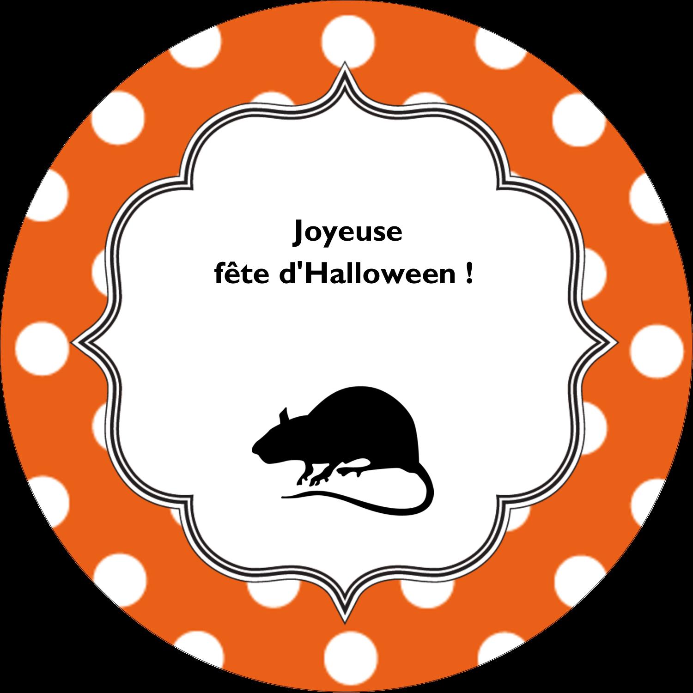 """3-7/16"""" x 15/16"""" Étiquettes de classement - Halloween d'enfant"""