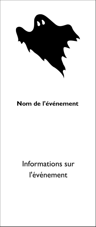 """2"""" x 3½"""" Cartes Pour Le Bureau - Halloween d'enfant"""