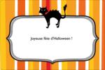 Halloween d'enfant Étiquettes rectangulaires - gabarit prédéfini. <br/>Utilisez notre logiciel Avery Design & Print Online pour personnaliser facilement la conception.