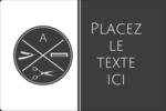 Trousse de toilette Étiquettes rectangulaires - gabarit prédéfini. <br/>Utilisez notre logiciel Avery Design & Print Online pour personnaliser facilement la conception.